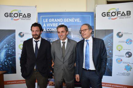 Lancement du Géofab du Grand Genève : des géodonnées dédiées aux projets innovants franco-suisse.